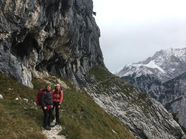 20191004 Garmisch Scharte